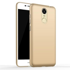 Case for Huawei Enjoy 6 Ultra Thin Hard PC Back Cover Smooth Grip Case (Golden) - intl