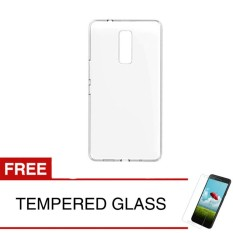 Promo Toko Case For Infinix Note 3 Pro X601 Clear Gratis Tempered Glass Ultra Thin Soft Case