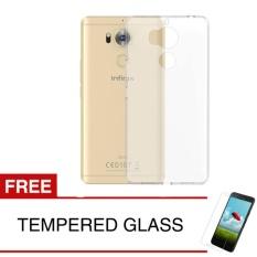 Harga Case For Infinix Zero 4 Plus X602 Clear Gratis Tempered Glass Ultra Thin Soft Case Softcase Asli