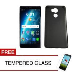 Kualitas Case For Infx Zero 4 Plus X602 Slim Soft Case Hitam Solid Gratis Tempered Glass Softcase