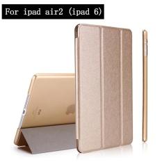 Case untuk IPad Air 2 (ipad 6) Super Lembut dan Kain Penutup Case Magnet Bangun Tidur untuk IPad Ai