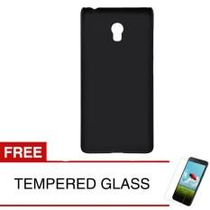 Ulasan Tentang Case For Lenovo Vibe P1 Turbo Slim Soft Case Hitam Solid Gratis Tempered Glass