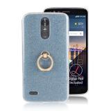 Jual Case Untuk Lg Stylo 3 Lg Stylus 3 Sparkling Slim Dengan Ring Grip Stand Pemegang Tpu Kembali Case Cover Biru Intl Grosir
