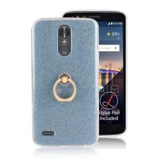 Toko Case Untuk Lg Stylo 3 Lg Stylus 3 Sparkling Slim Dengan Ring Grip Stand Pemegang Tpu Kembali Case Cover Biru Intl Yang Bisa Kredit