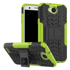 Case untuk LG X Power 2/K10 Power/LV7 Hibrida Combo Shockproof Casing Cover (Hijau) -Intl