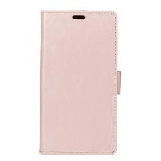 Case untuk LG X Venture PU Dompet Kulit Case dengan Fungsi Flip Berdiri dan Slot Kartu Magnetic Cover Penutupan (ungu) -Intl
