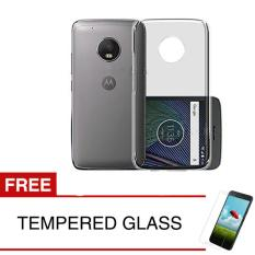 Jual Case For Motorola Moto C 2017 Abu Abu Gratis Tempered Glass Ultra Thin Soft Case Softcase Asli