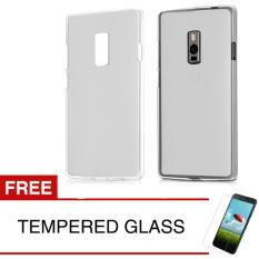 Case for OnePlus 2 - Abu-abu + Gratis Tempered Glass - Ultra Thin Soft