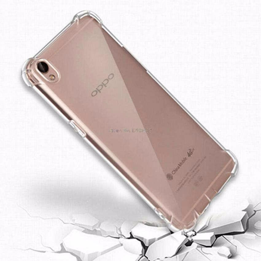 Acrylic Anticrack Mika Case for Oppo R9 / F1+ - Belakang Acrilic Keras - Pinggir Silicone Soft - Clear