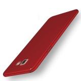Review Pada Case Untuk Samsung Galaxy A7 2016 A710 Ultra Tipis Hard Pc Full Body Halus Grip Punggung Cover Merah Intl