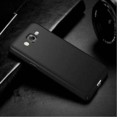 Case For Samsung Galaxy J1 2016 UltraSlim Premium Shockproof Hybrid Full Cover Series Hitam