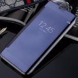 Beli Case For Samsung Galaxy J5 Pro Flipcase Flip Mirror Cover S View Transparan Auto Lock Casing Hp Blue Lengkap