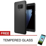 Case For Samsung Galaxy Note Fe Fan Edition Slim Black Matte Hardcase Gratis Tempered Glass Murah