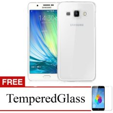 Case for Samsung Galaxy S4 Mini / I9190 - Clear + Gratis Tempered Glass - Ultra Thin Soft Case