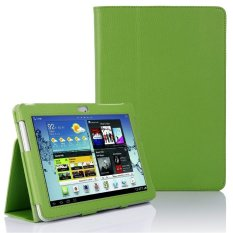 Case untuk Samsung Galaxy Tab 2 II 10.1 P5100/P5110 Flip Stand Case Wallet-Hijau