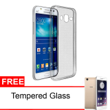 Beli Case For Samsung J5 2016 Softcase Ultrathin Abu Abu Gratis Tempered Glass Seken