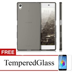 Promo Case For Sony Xperia Z2 D6502 5 2 Abu Abu Gratis Tempered Glass Ultra Thin Soft Case Case Terbaru