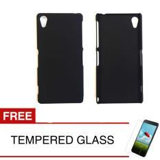 Beli Case For Sony Xperia Z2 D6502 5 2 Slim Black Matte Hardcase Gratis Tempered Glass Murah