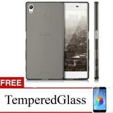 Case For Sony Xperia Z4 - Abu-Abu + Gratis Tempered Glass - Ultra Thin