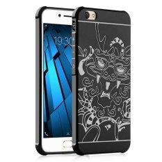 Case untuk Vivo Y67 V5 Silicone Cover 3D Dragon Anti Knock Pphone Shell untuk BBK Y67-Intl