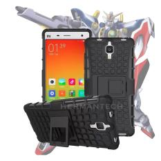 Case for Xiaomi Mi 4 Robotic Rugged Armor With Kickstand - Black