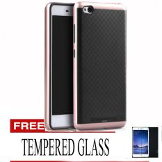 Tips Beli Case For Xiaomi Redmi 3 Neo Hybrid Rose Gold Gratis Tempered Glass