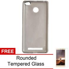 Case For Xiaomi Redmi 3S / Redmi 3 Pro Ultrahin Air Case Series - Abu Clear  + Free Rounded Tempered Glass
