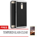 Case For Xiaomi Redmi Note 3 Neo Hybrid Series Perak Gratis Tempered Glass Original