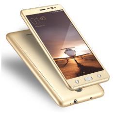 Case For Xiaomi Redmi Note 3 / Redmi Note 3 Pro (VERSI KENZO) SnapDragon Slim Armor 360 Degree Protect Series - Gold
