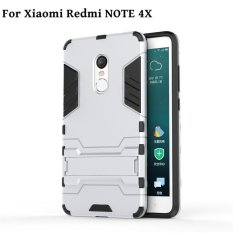 Case untuk Xiaomi Redmi Note 4X2017 HOT SELL Armor Hard Plastic + Soft Silicone/TPU Ponsel Case /Anti Jatuh Ponsel Cover/Tahan Guncangan Phonecase/Ponsel Pelindung untuk Xiaomi Redmi Note 4 X/Xiaomi RedmiNote4x /Xiaomi Merah Mi Note 4 X/redmi Note4X-Intl