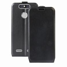 Case for ZTE Blade V8 Lite Crazy Horse Pattern Leather Case Flip Stand Cover (Black) - intl
