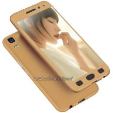 Case Front Back 360 Degree Full Protection for Lenovo A7000 + Tempered Glass