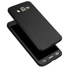 Case Full Protect 360 Derajat Samsung J1 Ace Full Body Hardcase Depan Belakang + Tempered Glass-PM2902