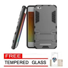 Beli Case Hard Armor Robot Transformer Iron Man Hybrid For Xiaomi Redmi 5A Grey Free Tempered Glass Online Murah