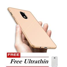 Toko Case Hard Matte Rubberised Back Cover For Samsung Galaxy J5 Pro Gold Free Ultrathin Online
