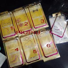 Case Hard Shell Fuze Chrome Swarovsky Samsung A3- A5- E7- E5- Zenfone 5- Iphone 5- 6
