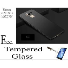 CASE HARDCASE FOR ASUS ZENFONE 3 MAX 5'5 INC BLACK/GOLD/RED/ROSE/NAVYBLUE Free Tempered Glass ASUS ZENFONE 5'5 IN Abenk_Shop