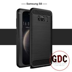Case Ipaky Carbon Fiber Samsung Galaxy S8 Soft Series