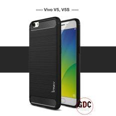 Case Ipaky Carbon Fiber Vivo V5 / V5S Soft Series