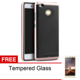 Ulasan Lengkap Tentang Case Ipaky Neo Hybrid For Xiaomi Redmi 3 Pro Tempered Glass Rose Gold