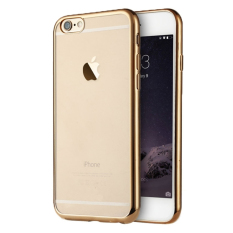 Promo Case Iphone 5 5S Se Softcase List Chrome Emas Gratis Tempered Glass Di Dki Jakarta