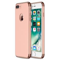 Toko Case Iphone 7 Plus 3 In 1 Plated Pc Frame Bumper With Frosted Hard Back Case Terlengkap Di Jawa Barat