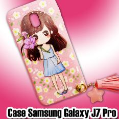 Case Ladies Girl Pink New For Samsung Galaxy J7 Pro - 3