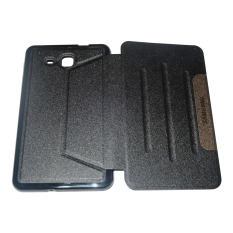 Case Leather Case /Flipcover/ Smartcover for Samsung Tab A 7inch 2016/ T280/T285 - Black