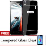 Harga Case Lenovo A7000 Plus Metal Bumper Backcase Hitam Gratis Tempered Glass Lengkap