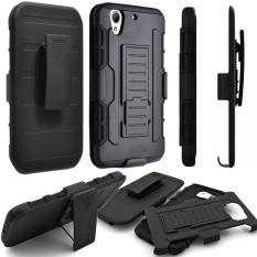 Case LG G Pro Lite Millitary Hybrid Armor Robot Kickstand Standing Hardcase Backcase Casing Cover Hp