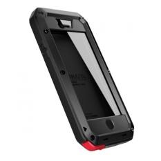 Case Lunatik Taktik Strike With Corning Gorilla Glass Untuk Iphone 5 / 5s / SE - Hitam