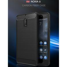 Diskon Case Luxury Ultra Slim Armor Soft Gel Cover For Nokia 6 2017 Case Untuk Nokia 6 Delkin Carbon Slim Hitam Delkin