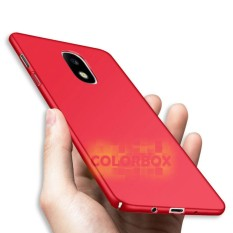 Case Mate Anti Fingerprint Hybrid Case Baby Skin Samsung J7 Pro j730 Baby Soft Babby Skin Samsung Galaxy j7 pro  Hardcase Samsung j730 / casing Samsung J7 Pro (j730) - Red