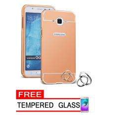 ... Case Metal for Samsung Galaxy J1 Mini Prime Aluminium Bumper With Mirror Backdoor Slide Rose